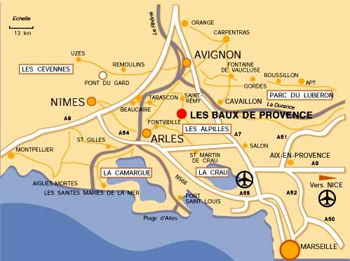 Location baux de provence maison mas entre saint r my - Chambre d hote maussane les alpilles ...